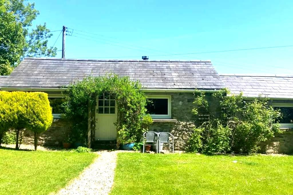 Cosy Quiet Welsh Country Cottage - Maesycrugiau