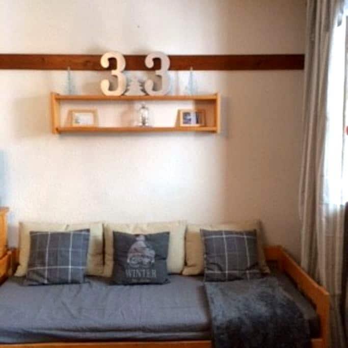 2 pièces dans résidence calme - Val Thorens - Apartamento