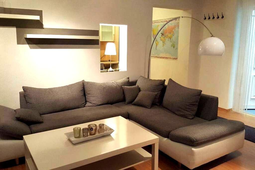 Charmantes Apartment für Zwei - Sinsheim - Kondominium