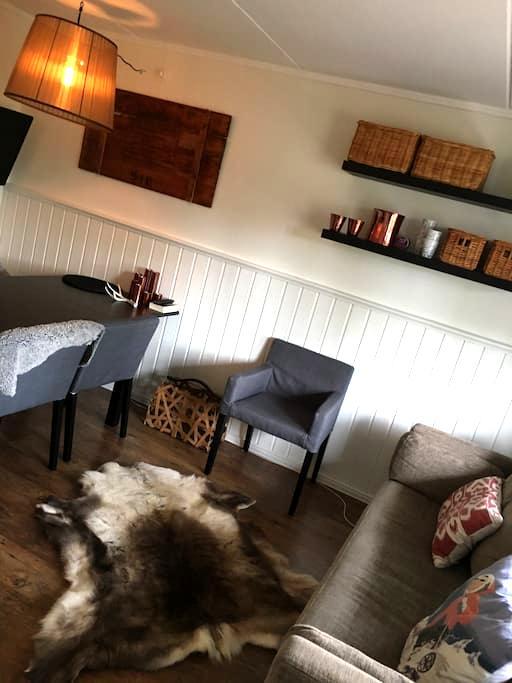 Smart lägenhet med ski in-ski out läge - Åre N