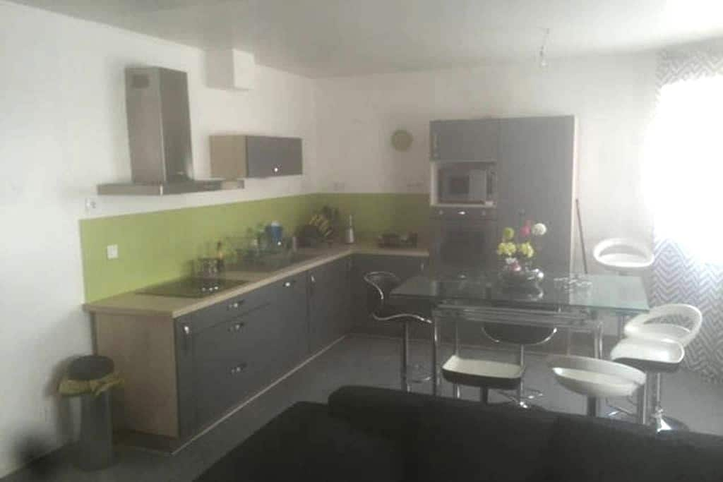 Bel appartement moderne proche Gare Centre pour 8P - Reims