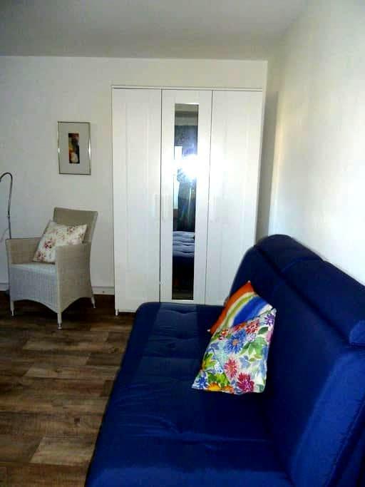 Ruhige, freundliche Souterrainwohnung - Hanau - Apartamento