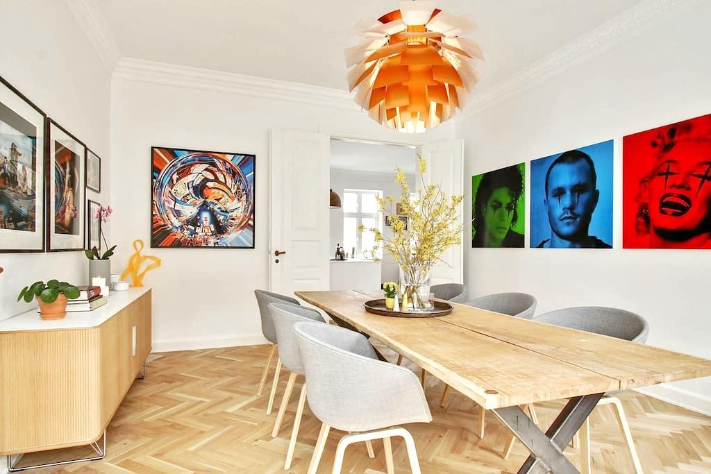 Superflot, moderniseret feinschmecker lejlighed - Aalborg