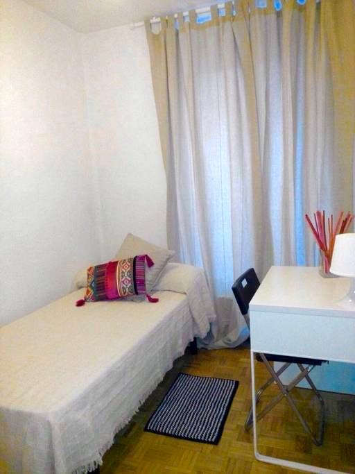 Tu habitación en Retiro a 10 minutos de Atocha - Madrid - Apartment