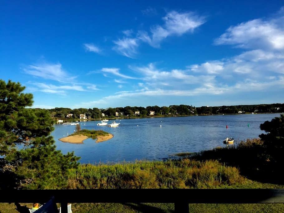 Pied-a-terre  with incredible views of the water - Vineyard Haven