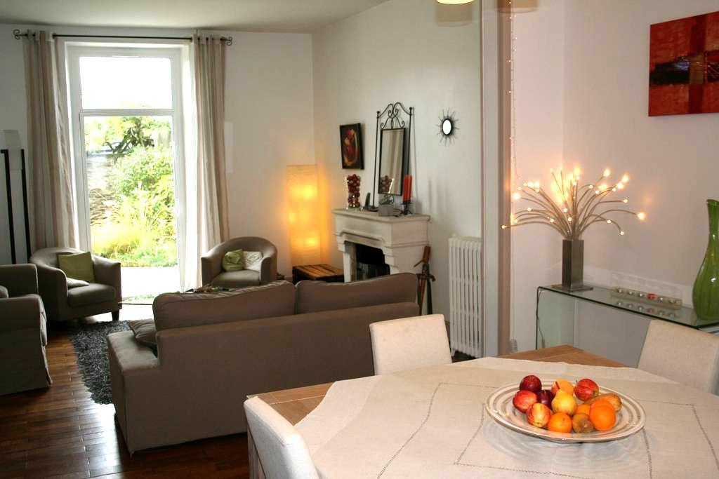 Centre ville, chambre au calme, petit déj. inclus - Angers - Dom