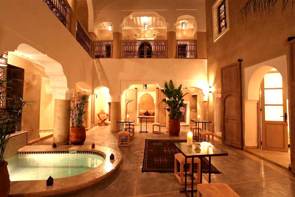 Room Chocolat, Riad BB, jacuzi - Marrakesh