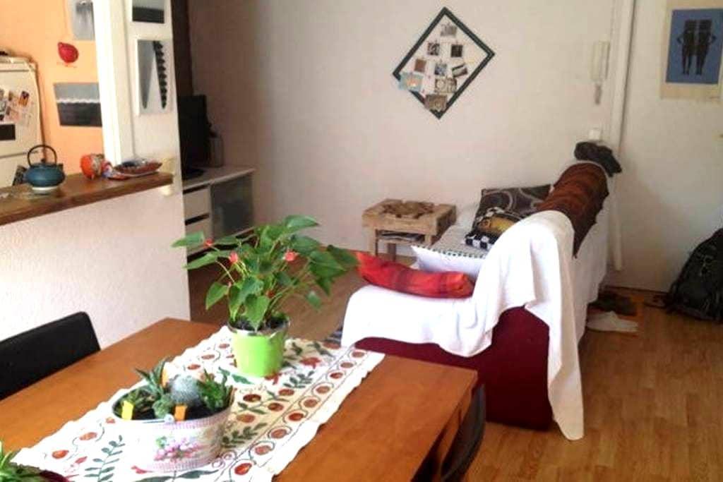 Piso luminoso y tranquilo - Bellver de Cerdanya - Apartament