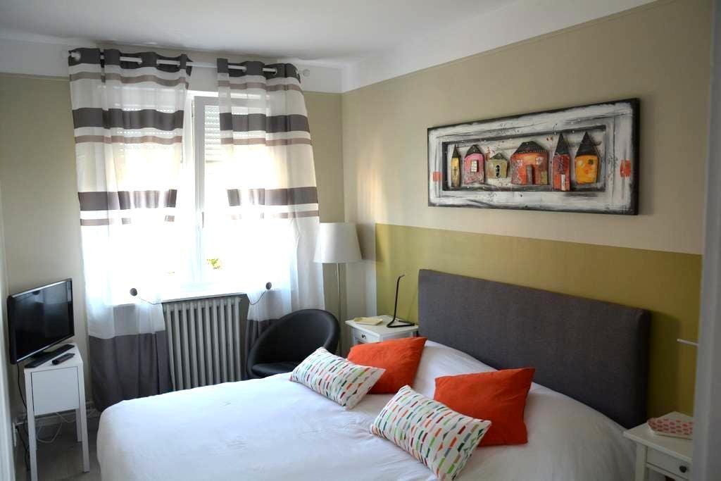 T1 cosy proche centre ville et caves de champagne - Reims - Huis