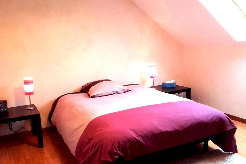 2 Chambres tt confort calme absolu à 2' de l'A714 - Saint-Angel - Casa