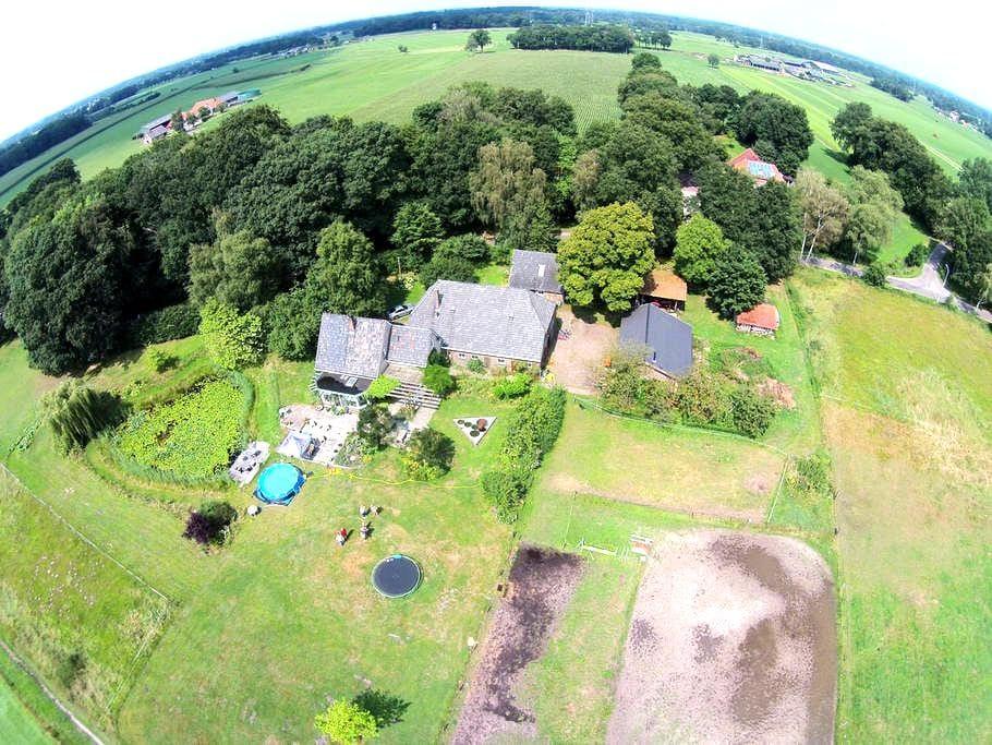 huisje grenzend aan landgoederen - Lochem