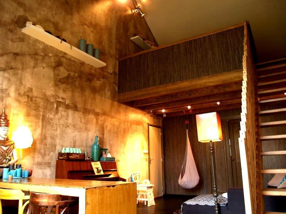 Appartement 1 in Voormalige jaren 30 school - Metslawier - Loft