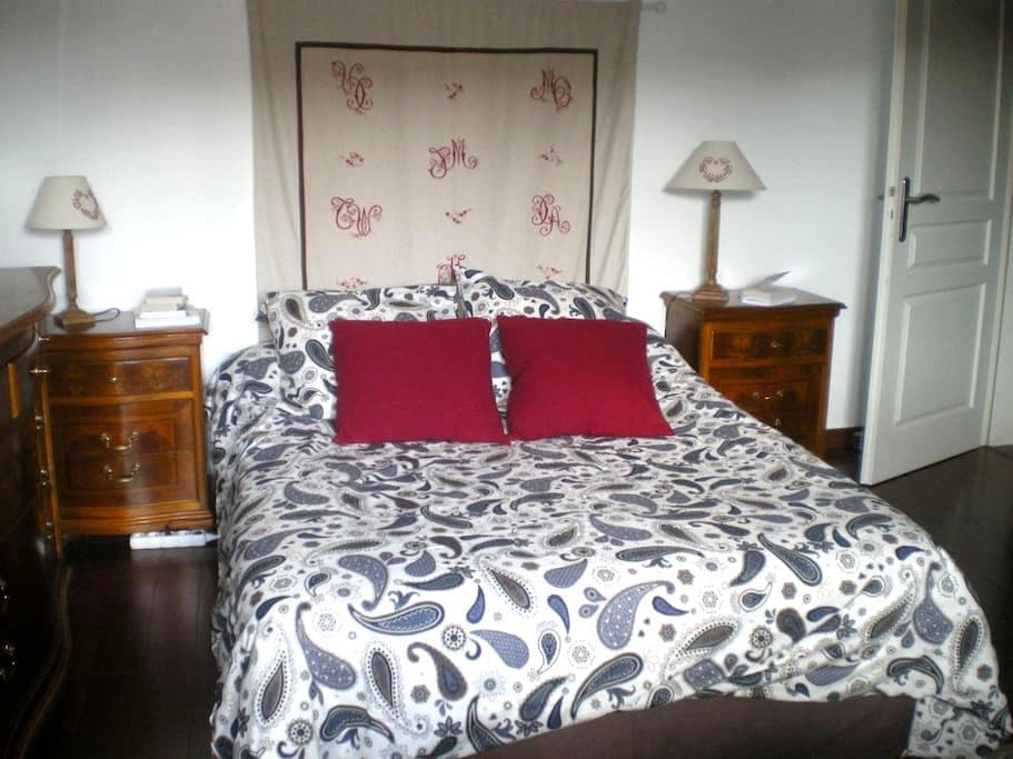Lovely bedroom in the town centre - Colmar - Appartement