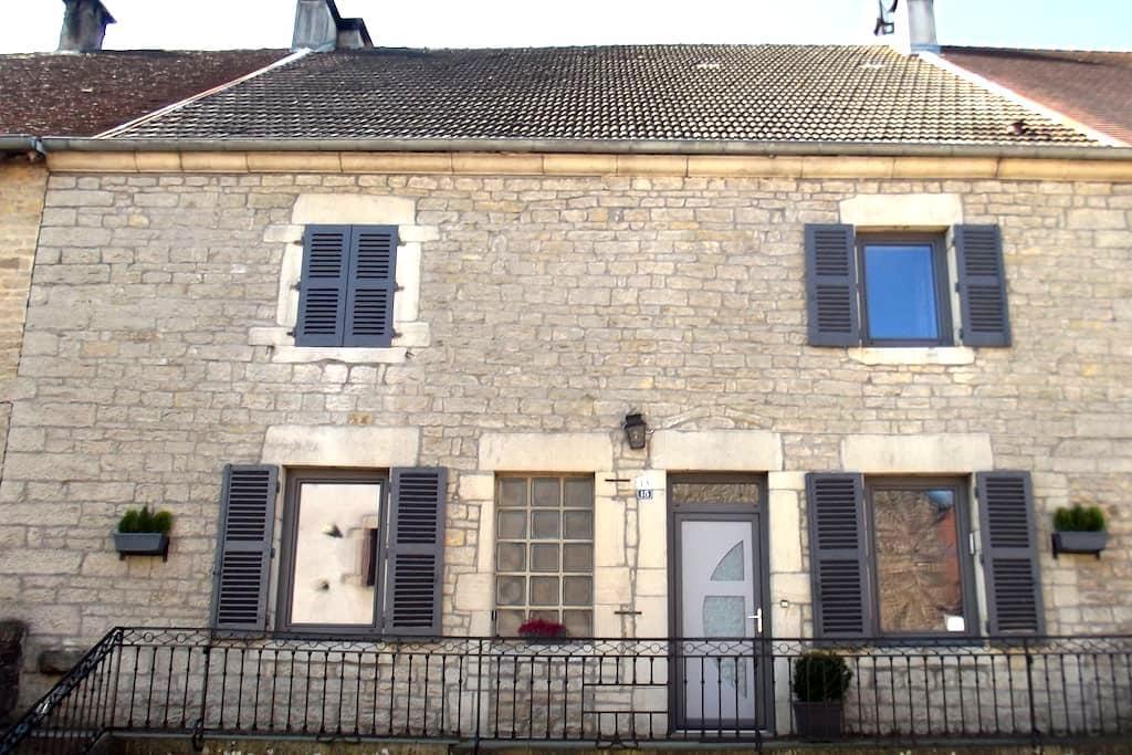 Maison de village - Pannessières - Hus