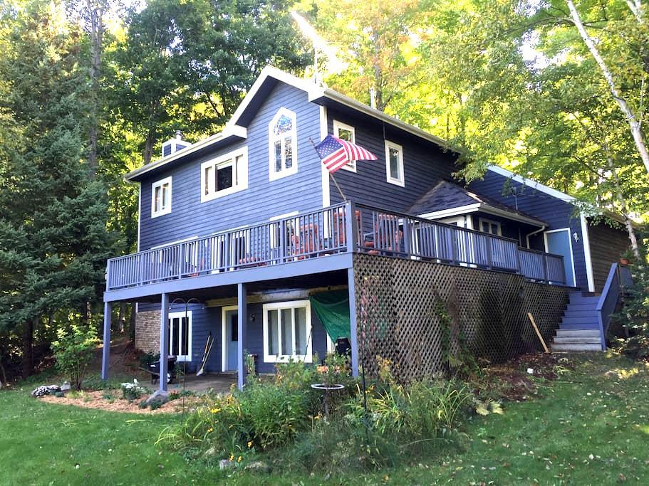 Petoskey, large home views of lake Blue Room - Petoskey