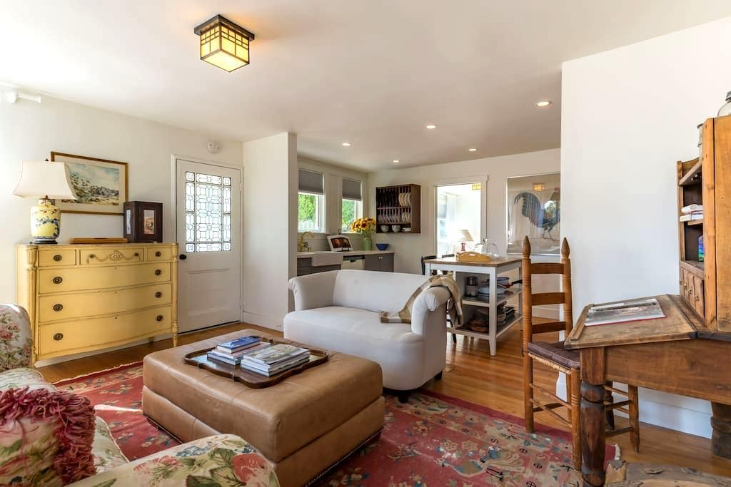 Gorgeous Wine Country Herb Cottage - Los Olivos