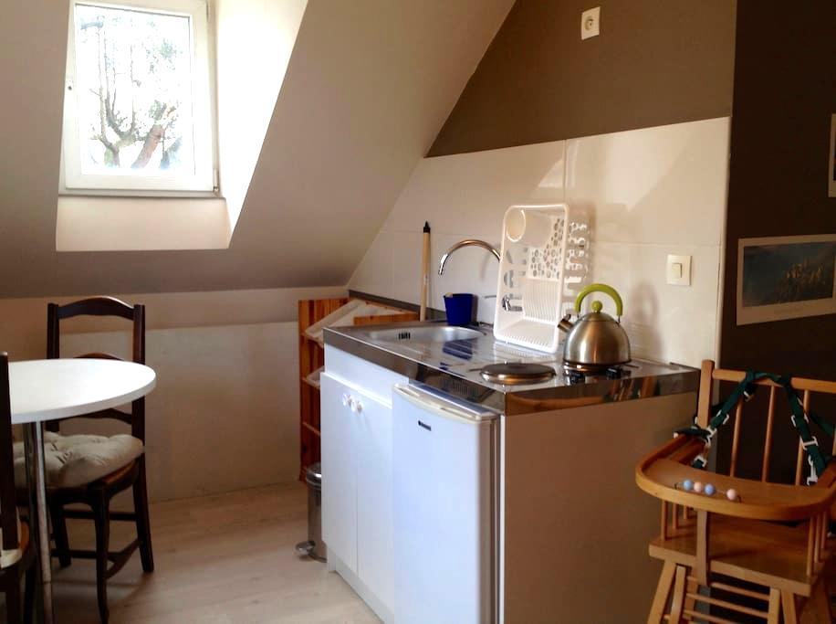 2 chambres 1 cuisine 1 salle de bain au neudorf - Strasbourg - House