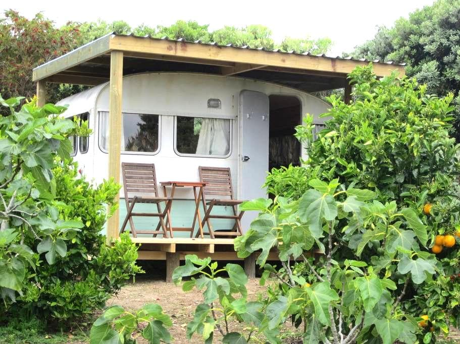 Caravan in orchard, Doubtless Bay - Mangonui - Cottage