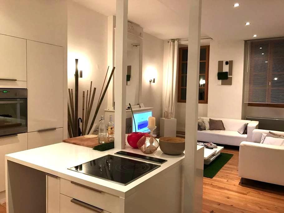 Charmant petit loft - Tarbes - Vindsvåning