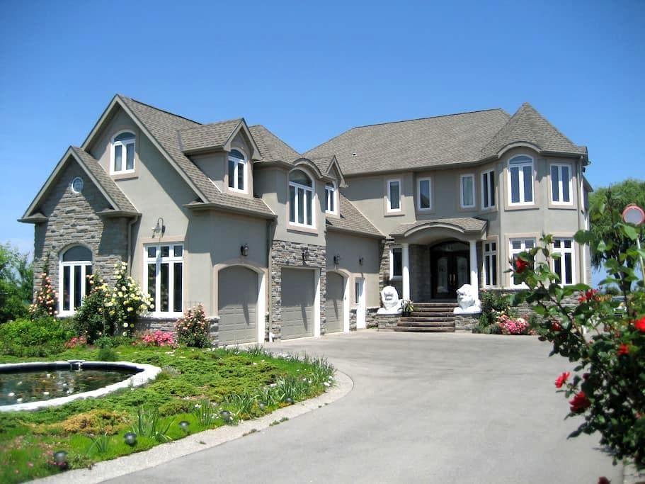 Casa de dólar de million en el lago - Grimsby - Casa