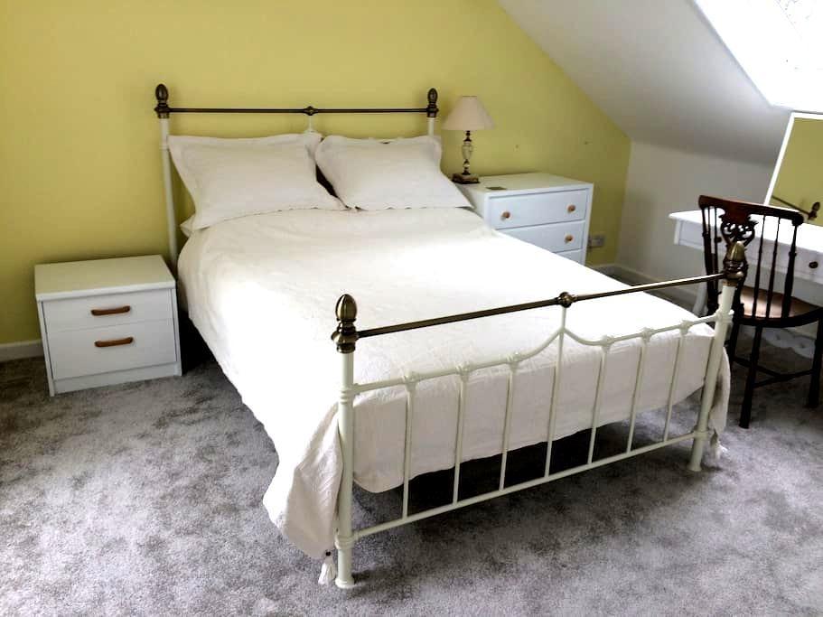 En-suite room in newly refurbished house, Dartmoor - Okehampton - Huis