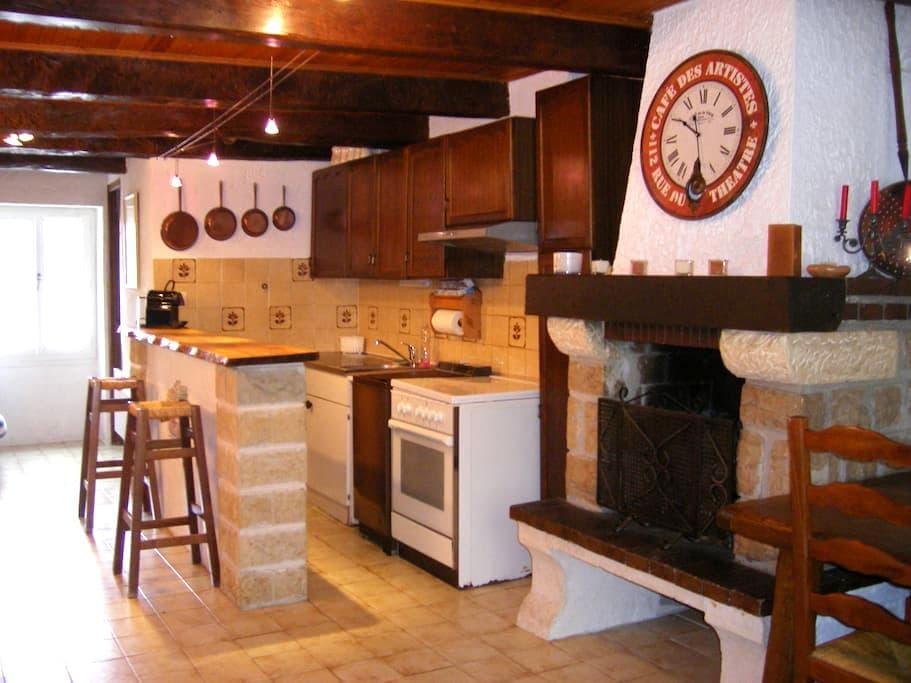 maison de village moyenne montagne - Caille - Apartment