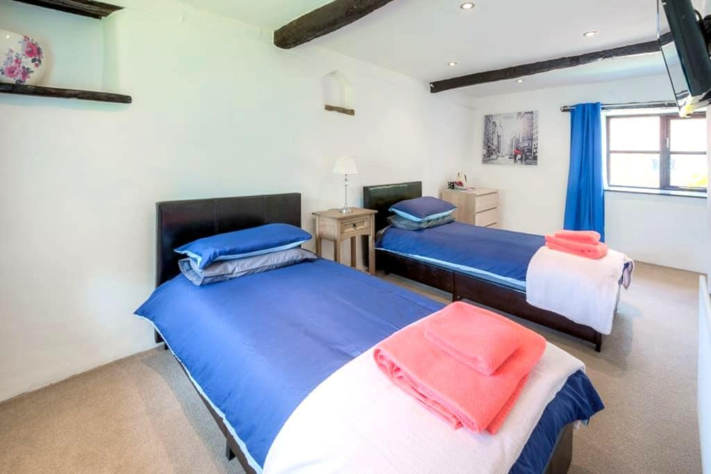 Stunning Converted Barn - Twin Room - Silverstone - Blakesley