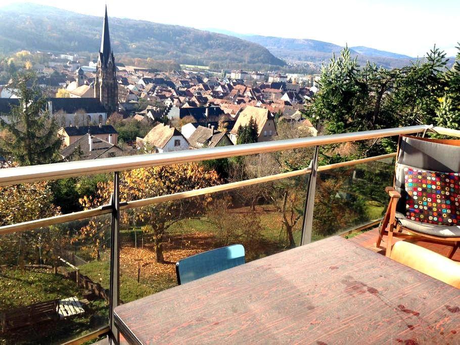 Sur les hauteurs au pied des vignes - Mutzig - Casa