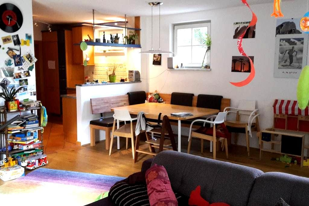 Family-stay in the green surroundings of Innsbruck - Absam - Apartmen