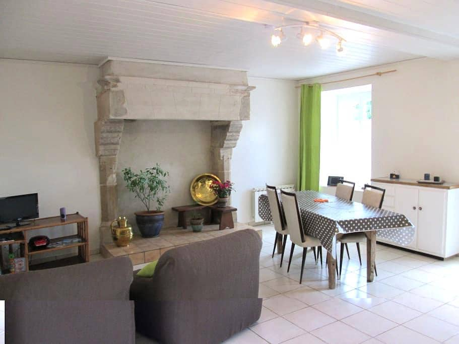 Gîte 4 personnes Manche Cotentin - Saussemesnil - Rumah