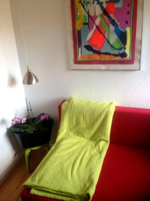 DET lille GRØNNE HYGGE STED - Silkeborg - Apartamento