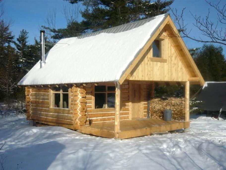 Log Cabin in the Woods - Ottawa
