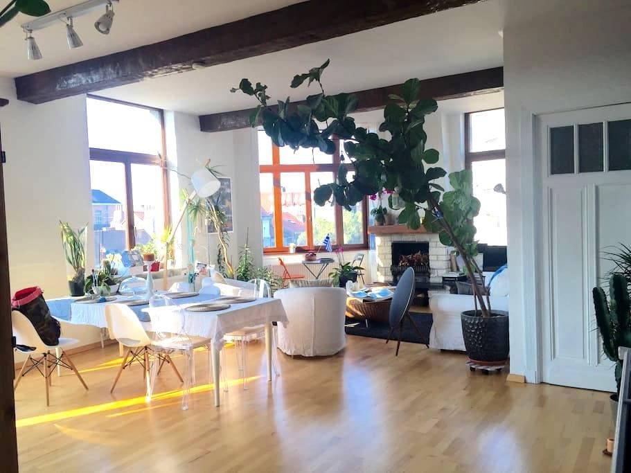 cosy and nice flat next to bxl city - Jette - Appartamento