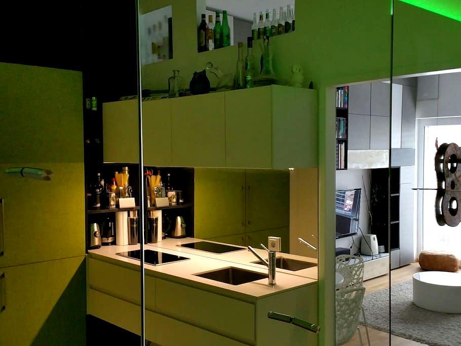 kleines Design-Domizil Linz Zentrum - Linz - Departamento