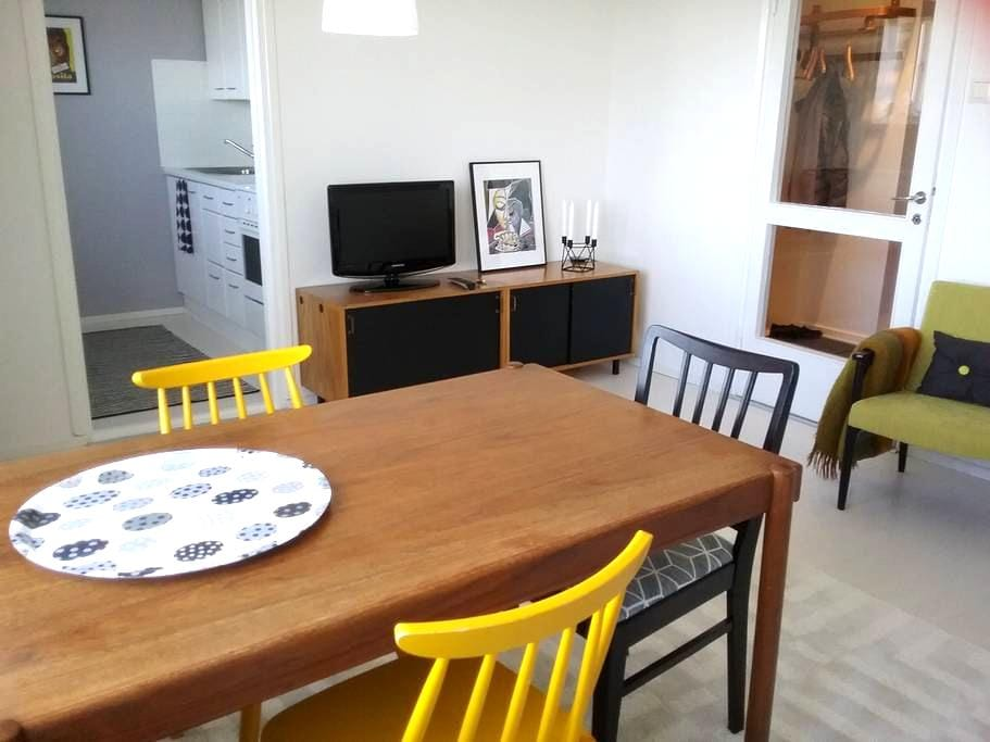 7th floor city view apartment! - Helsinki - Apartment