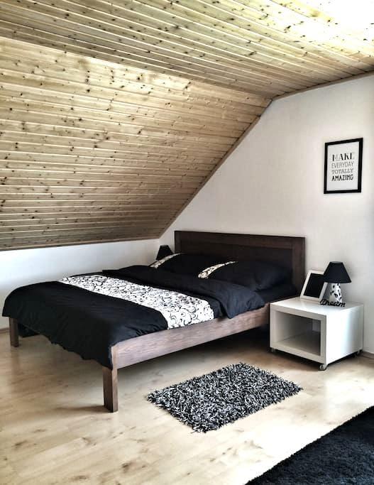 "Pokoj ""K"" / Room ""K"" - Chýnov - Casa"