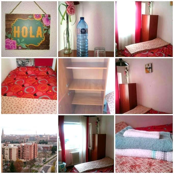 Habitación a 5 mnts del centro - Zaragoza - Appartement