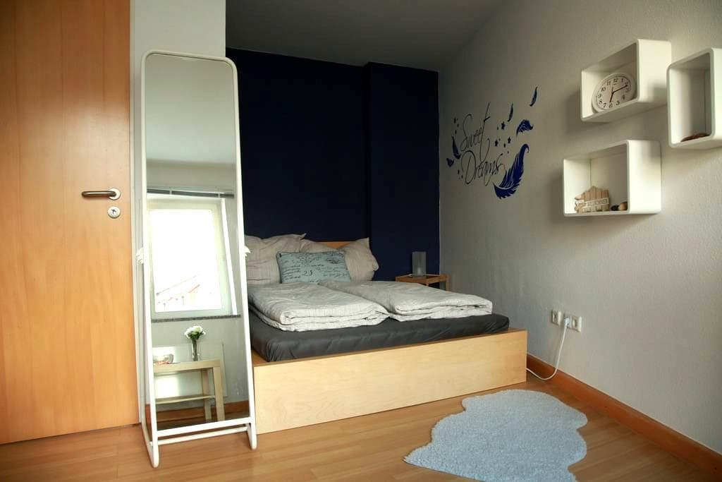 Bright room - Central in the city + Bath & Kitchen - Dresden - Apartamento