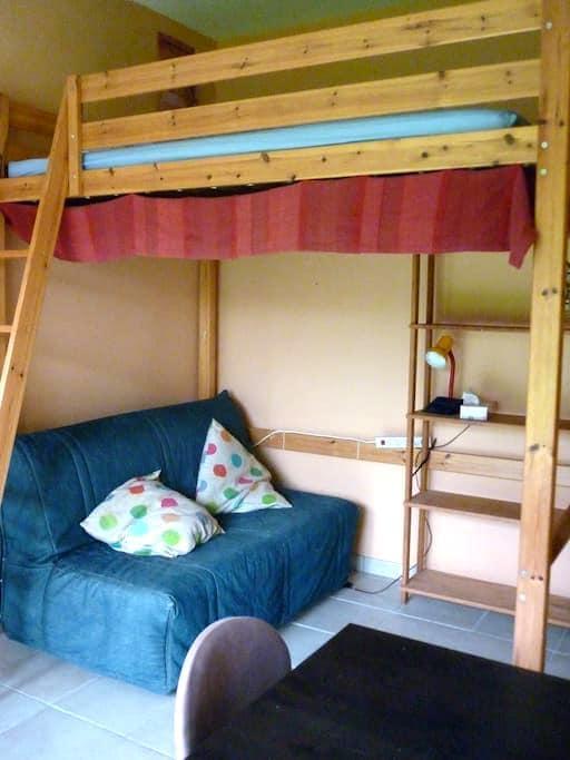 Chambre sur les bords de Loire - La Chapelle-Basse-Mer - Ev