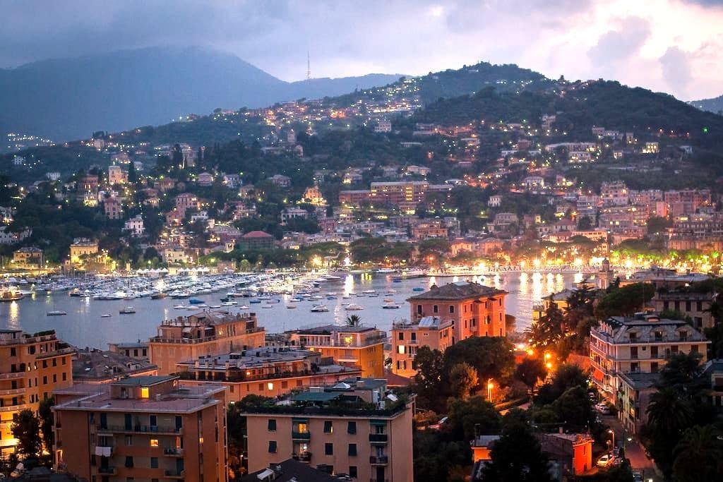Calm place panoramic sea view FREE WI-FI - Rapallo - Apartment