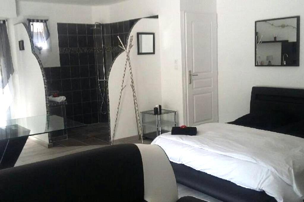 tres beau Studio spa sauna prive - Saint-Léger