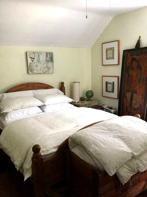 Lovely queen bed artsy house near DO exam site - Plymouth Meeting