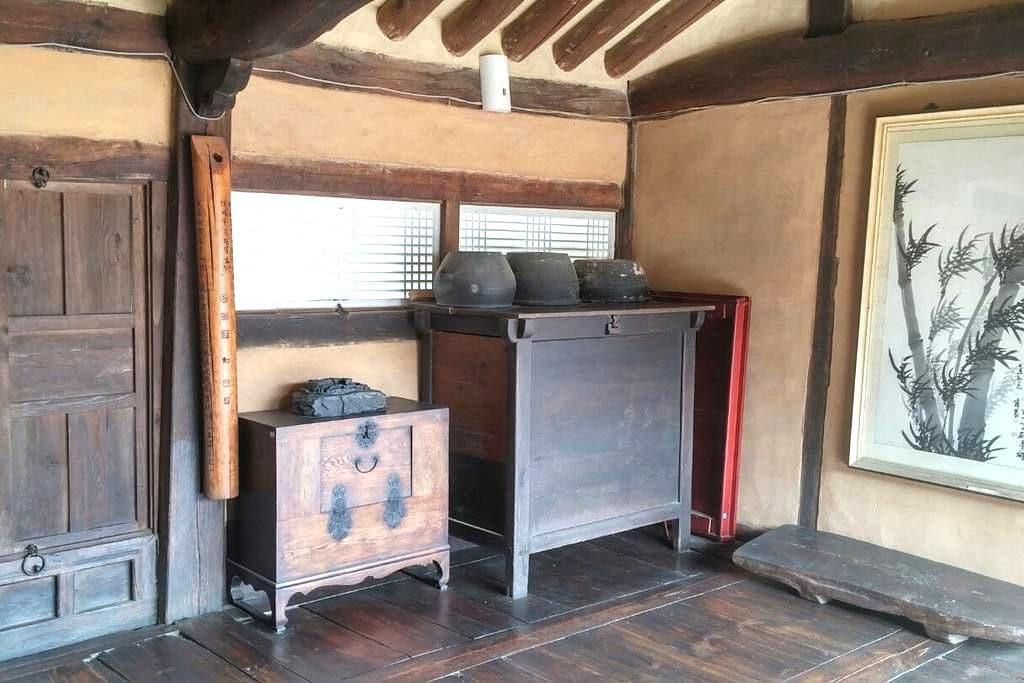 200년 된 고택 문화재에서의 소중한 하룻밤 - Jucheon-myeon, Yeongweol - Casa