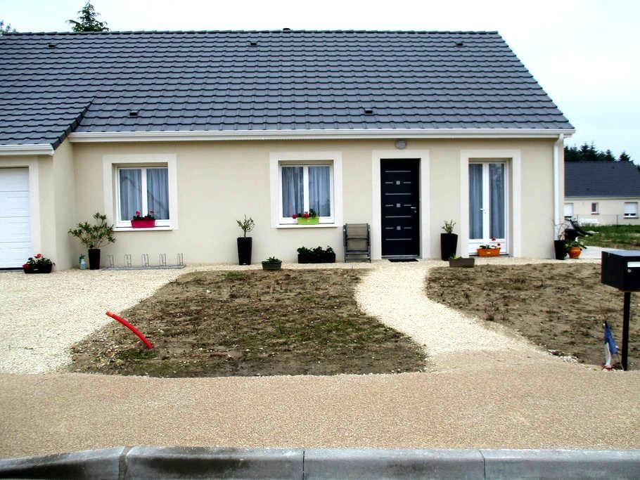 Maison sur les circuits des châteaux à vélo - Mont-prés-Chambord