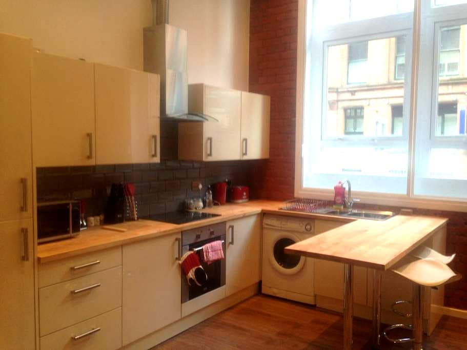 Stunning Grade II NY STYLE LOFT Apt - Manchester - Daire