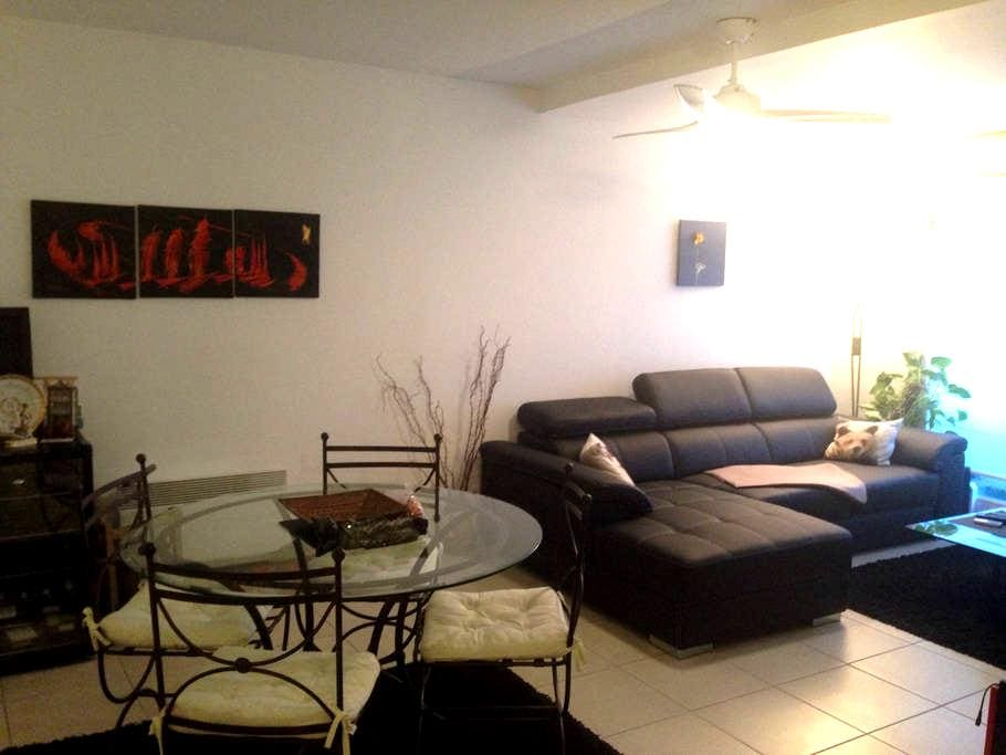 Appartement privé, résidence calme - La Farlède - Apartemen
