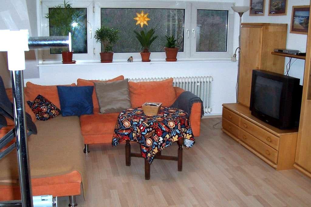Ruhig gelegene, gemütliche Gästezimmer - Erndtebrück - Rumah