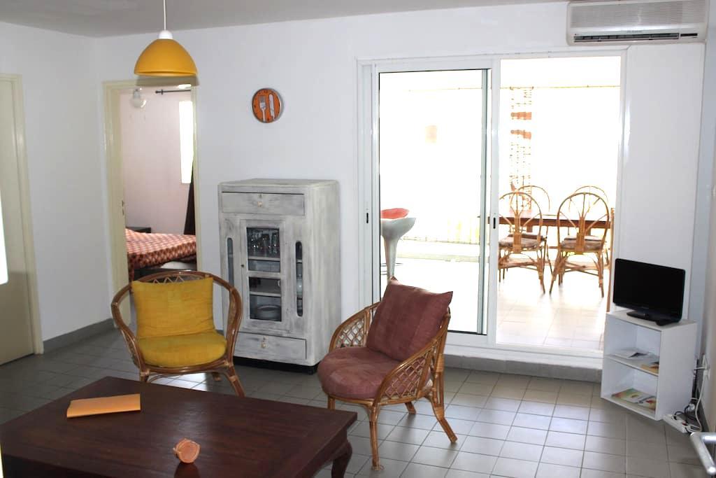 T2 à 100 mètres du lagon - La Saline-Les-Bains - Apartament