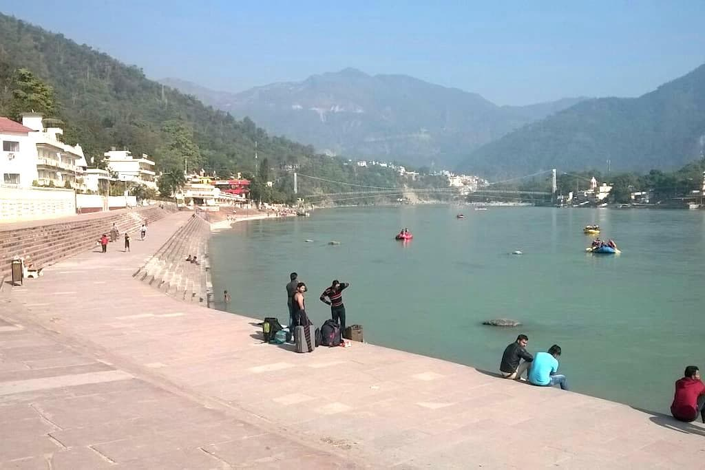 East west apartment with ganga view - Rishikesh - Apartemen
