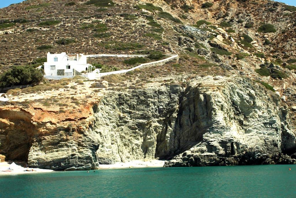 Deep Blue House in Folegandros - Folegandros